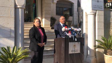 Photo of وزيرة الصحة: لا اصابات جديدة في فلسطين وهناك 5 حالات تعافي