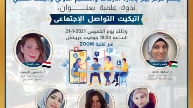 Photo of ايتكيت التواصل الاجتماعي …!